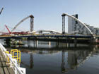 Clyde Arc during construction